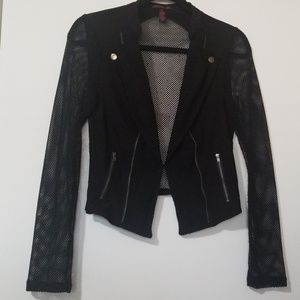 Illusion/mesh Jacket by MATERIAL GIRL